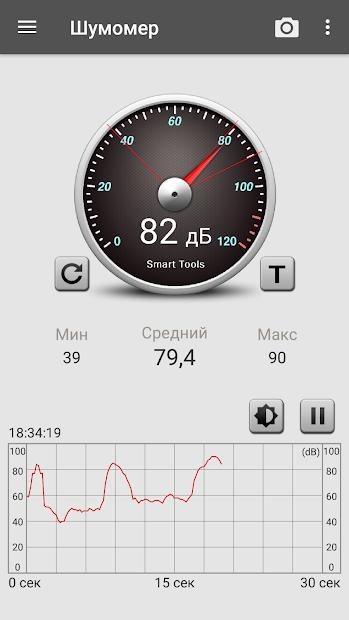 Шумомер: Sound Meter
