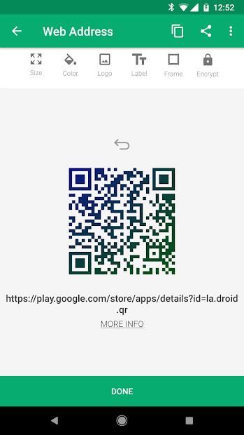 QR Droid Code Scanner