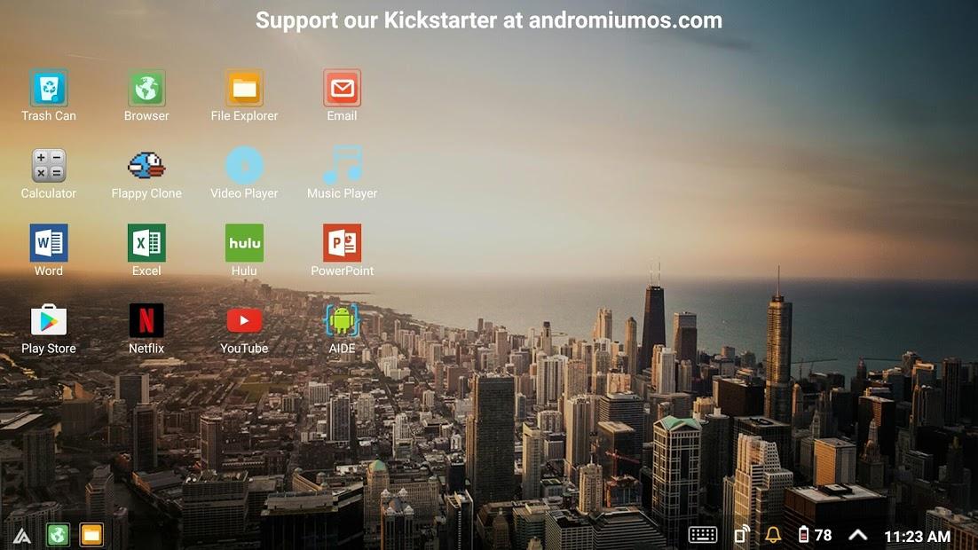Sentio Desktop (Android 4–6)